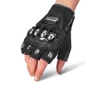 機車手套MADBIKE摩托車夏季手套不銹鋼防摔透氣越野騎士行賽車電動機車男可卡衣櫃