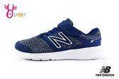 New Balance 男童慢跑鞋 PREMUS 足弓發展用鞋 寬楦 O8445#藍色 ◆OSOME奧森童鞋