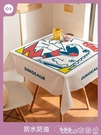 熱賣桌布布藝桌布防水防燙防油免洗北歐茶幾餐桌布書桌學生臺布pvc桌墊  coco