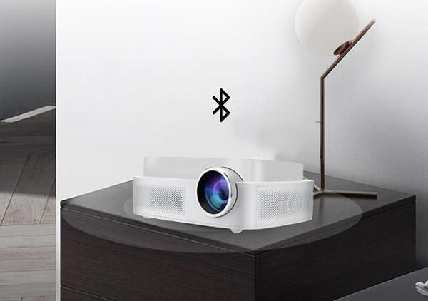投影儀家用wifi無線同屏手機投牆上看電影4k高清1080p辦公培訓新款  英賽爾3c
