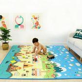 寶寶爬行墊 寶寶爬行墊加厚無味嬰兒童客廳家用爬爬墊毯小孩泡沫地墊折疊大號 酷我衣櫥