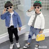 男童牛仔外套2019夏季新款中小童寶寶潮流外套小熊夾克衫上衣cp2281【甜心小妮童裝】