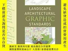 二手書博民逛書店Landscape罕見Architectural Graphic Standards, Student Editi