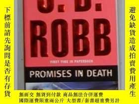 二手書博民逛書店英文原版罕見Promises in Death by J. D.