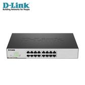 【D-Link 友訊】DGS-1100-16 Layer 2 Gigabit 簡易網管型交換器