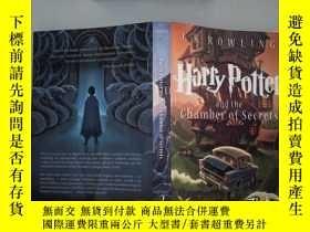 二手書博民逛書店Harry罕見Potter and the Chamber of Secrets 封面 裏面有開裂Y19883