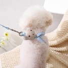 狗狗牽引繩 狗狗牽引繩遛狗繩子泰迪比熊貴賓背心式胸背帶狗鏈小型犬寵物用品