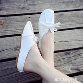 豆豆鞋 單鞋韓版奶奶鞋平底女鞋森女系鞋子豆豆鞋潮 koko時裝店