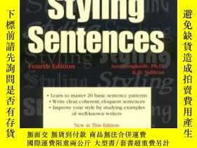 二手書博民逛書店The罕見Art Of Styling Sentences-造句的藝術Y436638 K.d. Sulliva