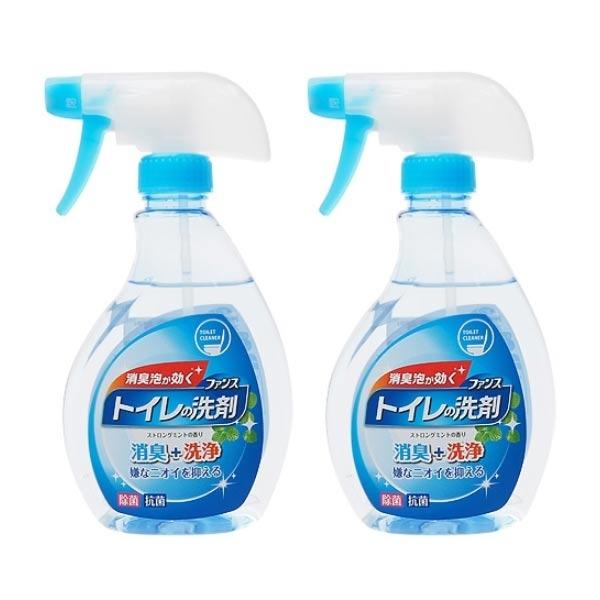 日本 第一石鹼 馬桶清潔泡沫噴霧(薄荷香)380ml【小三美日】