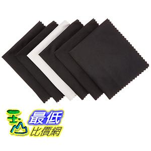 [106美國直購] AmazonBasics 相機檫布Microfiber Cloths for Electronics (6 Pack)