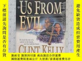 二手書博民逛書店大32開英文原版罕見Deliver us from evilY281995 Clint Kelly Betha