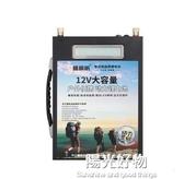 逆變器楓帆鋰電池12V大容60ah100ah大容量聚合物氙氣燈戶外鋰電瓶 NMS陽光好物