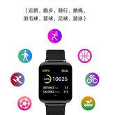 主推.新款B57彩屏智能手環手錶心率血壓血氧計步來電顯示藍芽連接手環  3C公社