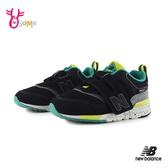 New Balance 小童 寶寶運動鞋 997H運動時尚 強勢撞色 慢跑鞋 P8442#黑色◆OSOME奧森鞋業