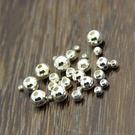 Silver shop 純銀 空心珠 規格:3mm 單個[ SPP 029 ]