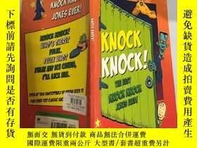 二手書博民逛書店the罕見best knock knock jokes ever 有史以來最好的敲門笑話Y200392