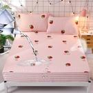 【限時下殺89折】床包 全棉防水床包單件棉質隔尿透氣床罩1.8m席夢思床墊保潔墊防滑床單