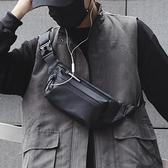 胸包防水男士腰包個性休閒戶外運動斜背包時尚韓版潮流死飛騎行包