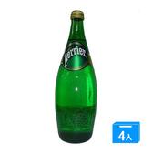 法國沛綠雅Perrier氣泡礦泉水330ml x4入【愛買】