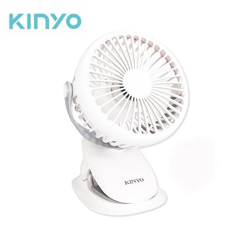 KINYO 多功能夾/立式小風扇UF-168【愛買】