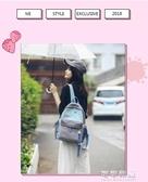 韓國ulzzang帆布書包日繫原宿少女學生雙肩包小清新森繫背包 交換禮物