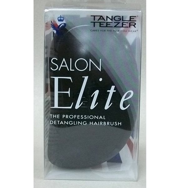 TANGLE TEEZER 英國科技美髮梳 黑色   英國專利No.GB2447692B EU專利No.EP2124668B