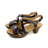 Kimo 涼鞋 跟鞋 女鞋 深紫色 漆皮 K18SF067109 no762