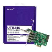 UTB245 USB 3.0 4-Port 擴充卡