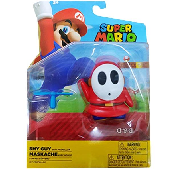 《 任天堂 》超級瑪利歐 任天堂4吋公仔W22 - SHY GUY / JOYBUS玩具百貨