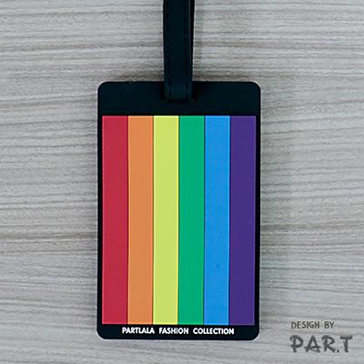 【PAR.T】軟殼彩虹證件套