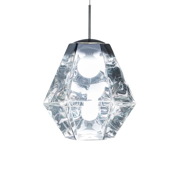 英國 Tom Dixon Cut Tall Suspension Lamp 50cm 晶鑽切割系列 吊燈 - 高挑款