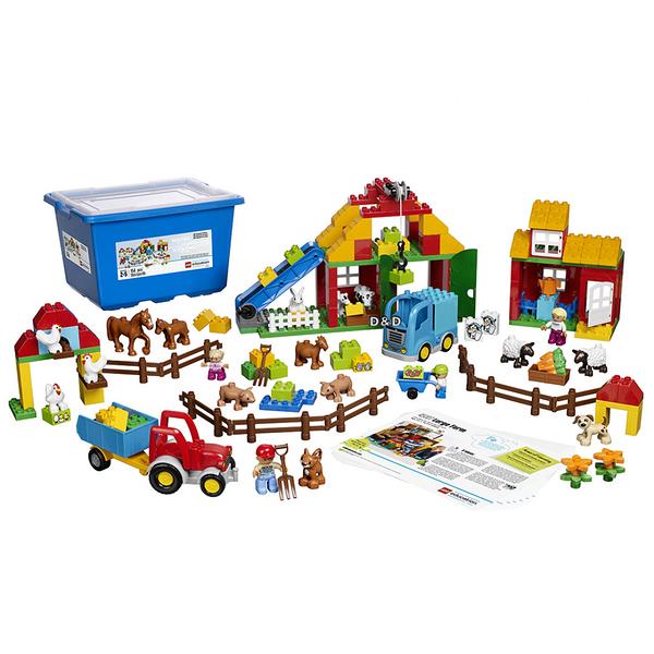 樂高積木 LEGO《 LT45007 》Duplo Education 得寶教育系列 - 大農場╭★ JOYBUS玩具百貨