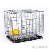 兔子籠子荷蘭豬豚鼠刺猬松鼠垂耳兔籠子兔籠子小號 大號 特大號WD 晴天時尚館