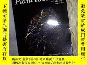 二手書博民逛書店Journal罕見of Plant Research Vol.1