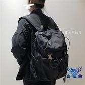 後背包大容量男書包雙肩包工裝風女簡約潮流電腦旅行【古怪舍】
