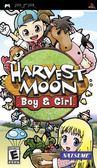 PSP Harvest Moon: Boy & Girl 牧場物語 收穫之月:男孩版&女孩版(美版代購)