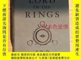 二手書博民逛書店The罕見Lord of the Rings 魔戒 美版 仿皮質