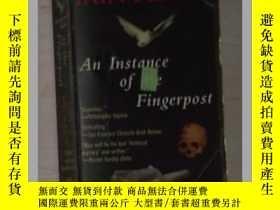 二手書博民逛書店英文原版罕見An Instance of the Fingerp