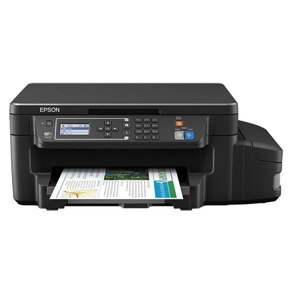 愛普生 EPSON L605 高速網路 Wifi 六合一 連續供墨印表機+墨水1組(四色) (可參加原廠活動)