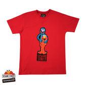 新品2%  2% X 芝麻街GROVER & ELMO T恤-紅(大人款)  春上市