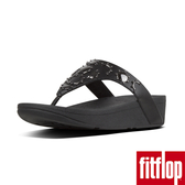 【FitFlop】LOTTIE CRESCENT STUD TOE THONGS(黑色)歡慶10周年!限時回饋66折