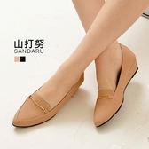 紳士鞋 金線尖頭楔形鞋- 山打努SANDARU【3291206#46】