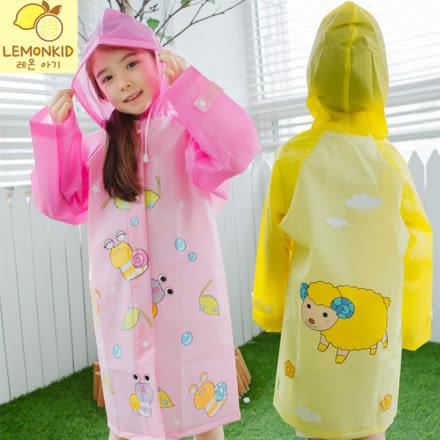 兒童EVA亮彩卡通雨衣