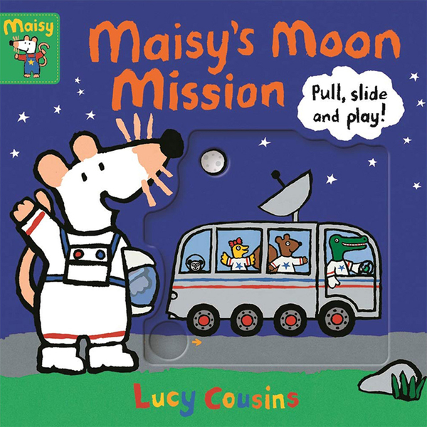 Maisy's Moon Mission : Pull, Slide And Play! 小鼠波波登陸月球推拉書