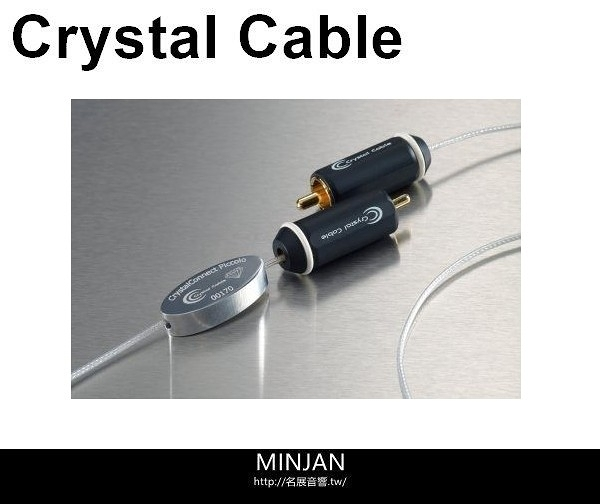 【名展音響】Crystal Cable 訊號線 Micro Diamond (Phono with ground wire) 長度1M(特規版)