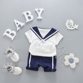 男童夏裝套裝2018新款短袖0-3歲嬰兒衣服寶寶