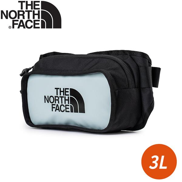 【The North Face EXPLORE HIP PACK 3L腰包《銀藍》】3KZX/休閒腰包/小包/斜背包/側背包