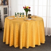 桌布 酒店桌布布藝圓形餐桌布飯店餐廳家用台布定制歐式方桌大圓桌桌布