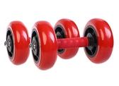 軸承四輪健腹輪練飛鳥健腹器擴胸器腹肌輪家用健身器材腹部鍛煉